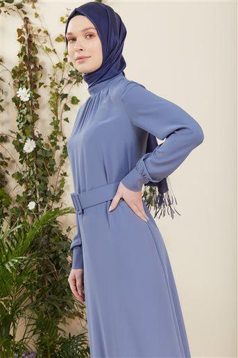 Elbise-Mavi DO-B21-63001-09