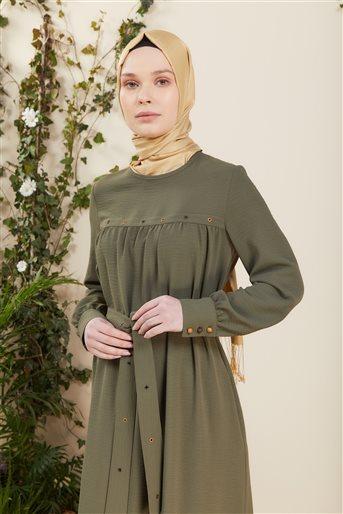 DO-B21-63006-25 فستان-أخضر