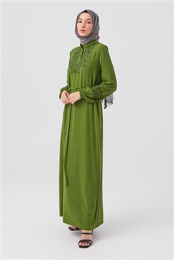 DO-B21-63041-25 فستان-أخضر