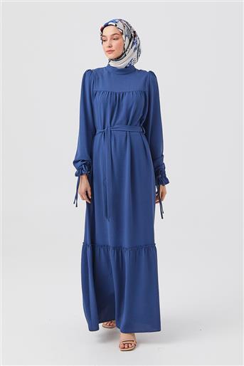 DO-B21-63014-39 فستان-نيلي