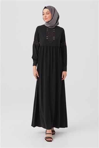 DO-B21-63015-12 فستان-أسود
