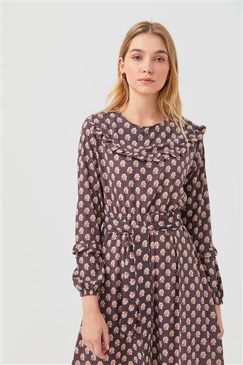 1180027-51 فستان-أرجواني