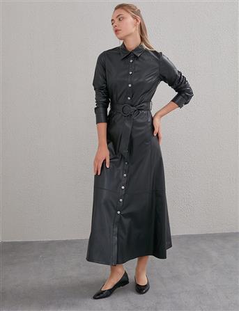 Elbise-Siyah KA-A20-23030-12
