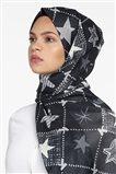 Kayra Shawl-Black KA-B9-SAL14-12