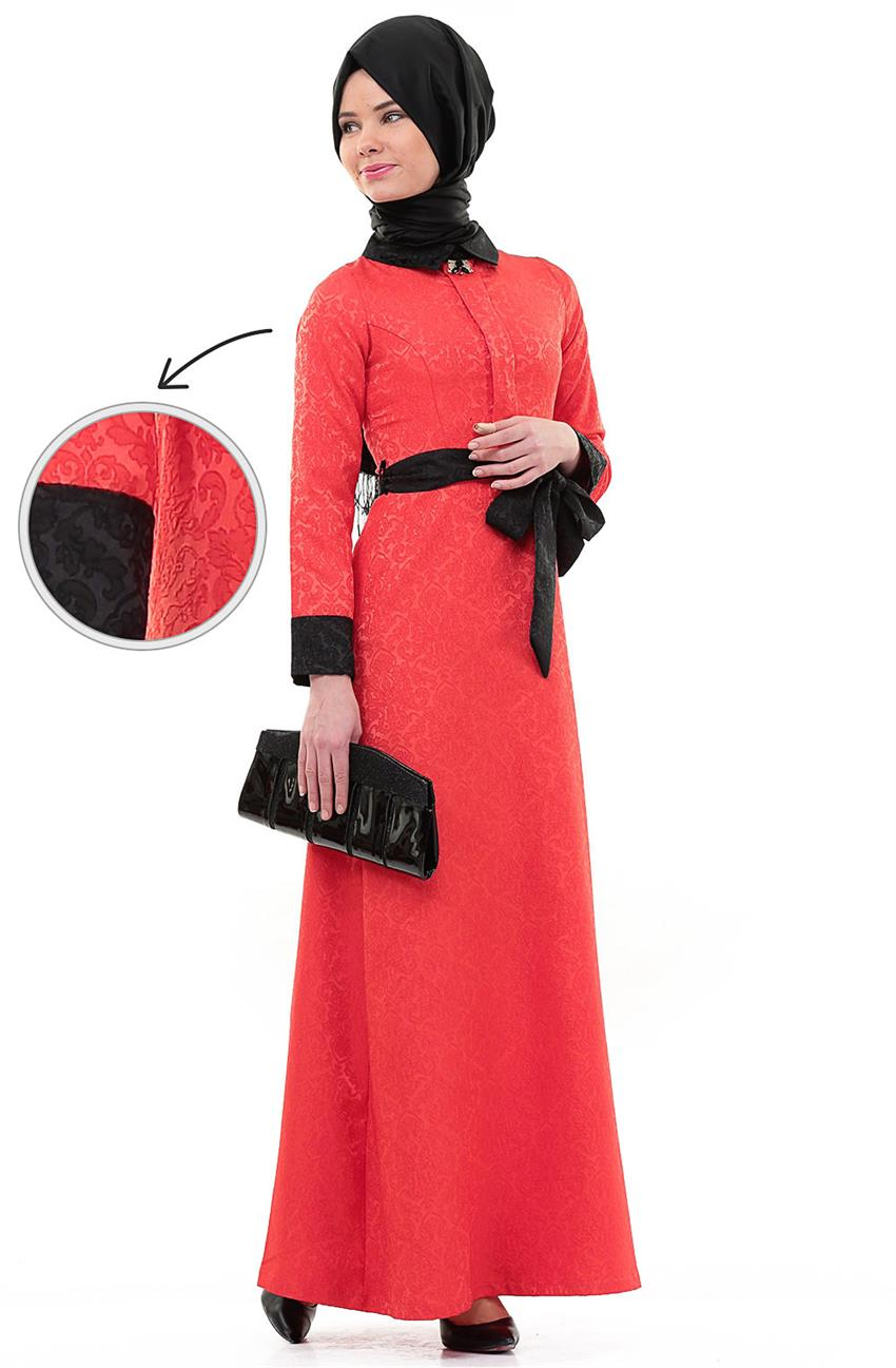 Dress-Coral 288-81 - 6