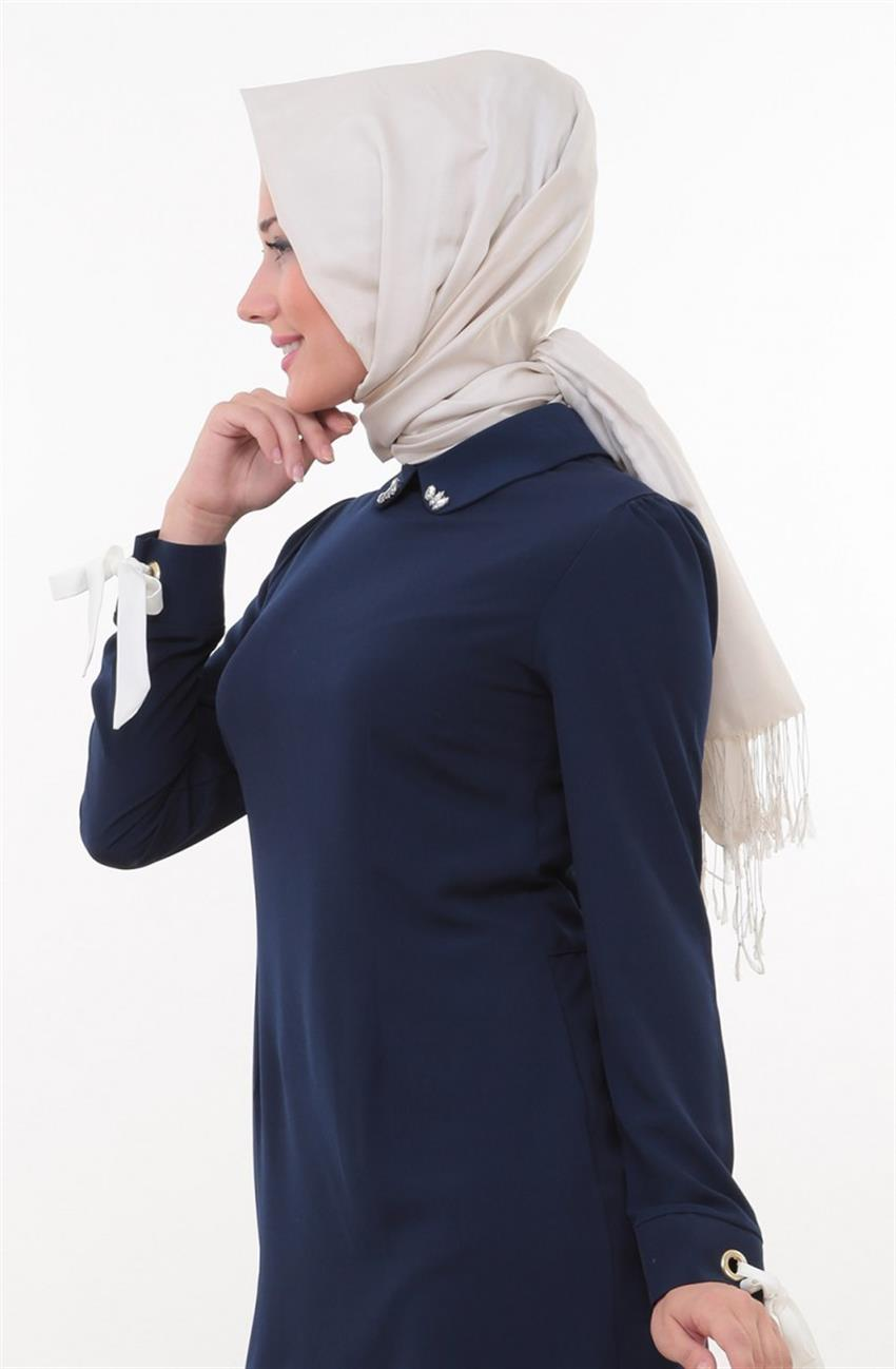 Swarovski Tunic-Navy Blue 8345-17 - 6