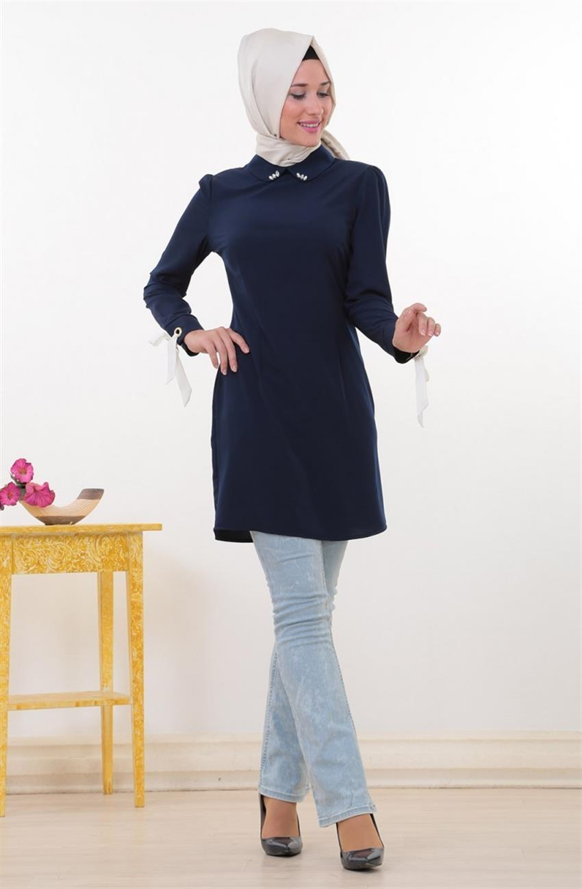 Swarovski Tunic-Navy Blue 8345-17 - 5