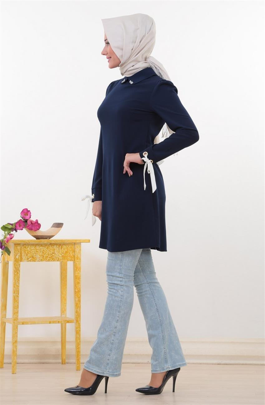 Swarovski Tunic-Navy Blue 8345-17 - 7
