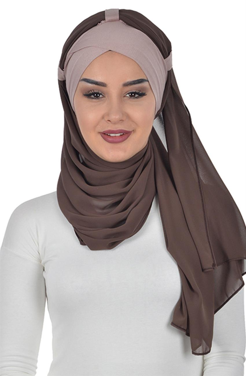 Shawl-Mink-Brown Bs-0001-2-6 - 5