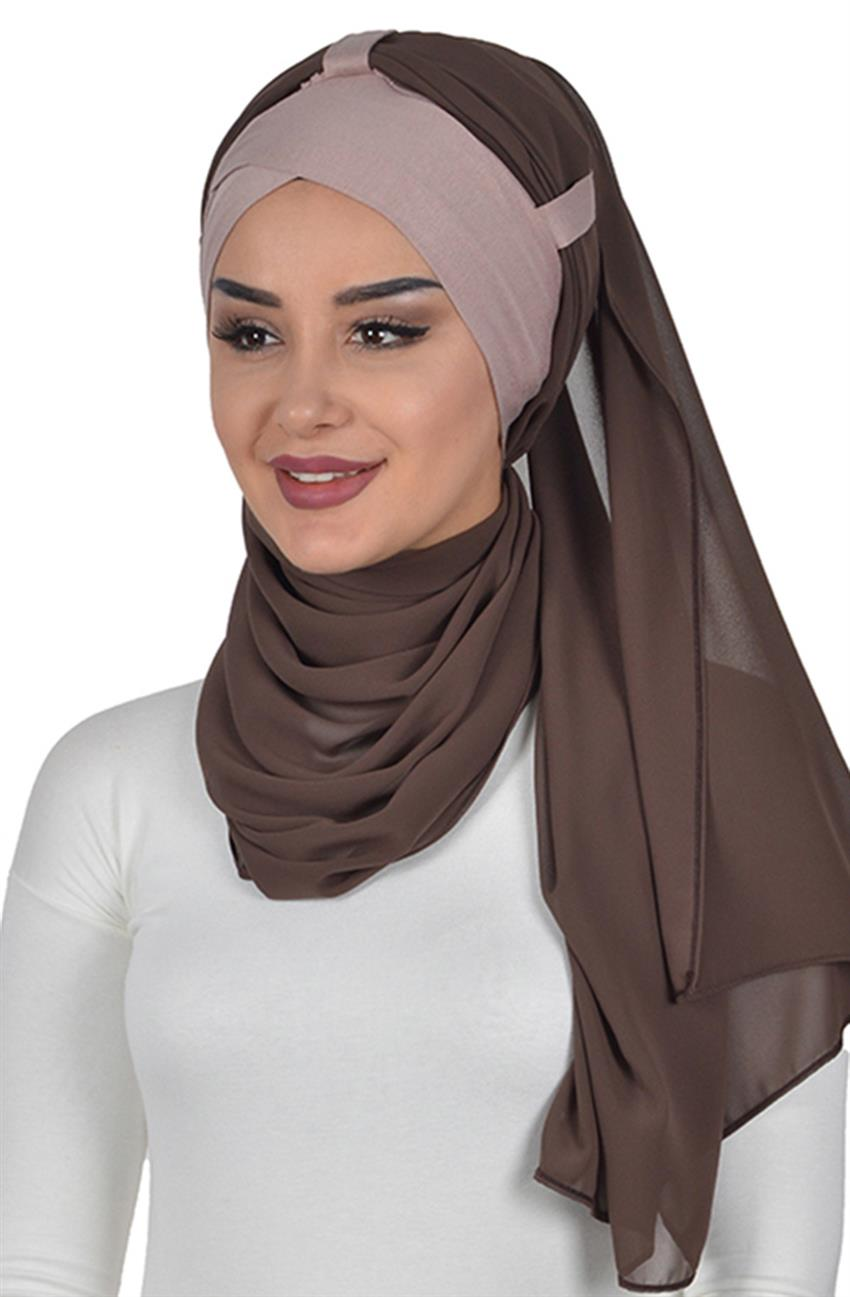 Shawl-Mink-Brown Bs-0001-2-6 - 4