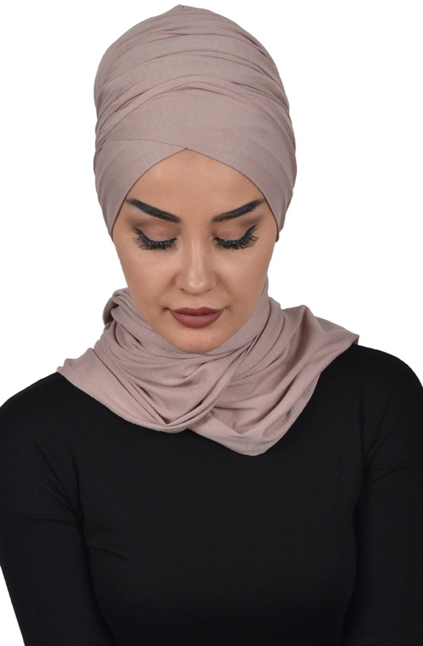 Bonnet Shawl-Mink Bt-0003-2 - 8
