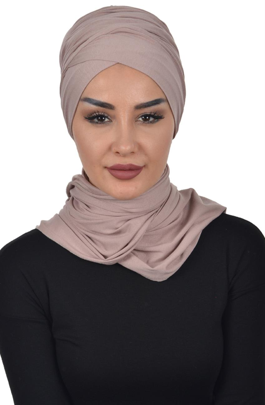Bonnet Shawl-Mink Bt-0003-2 - 6
