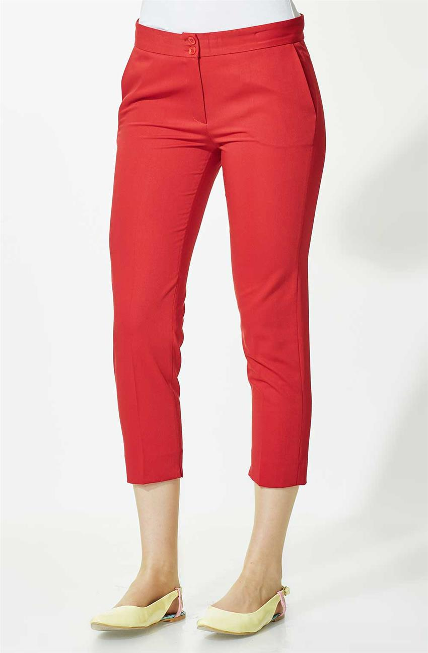 Bilekte Pants-Red 1682-34 - 11