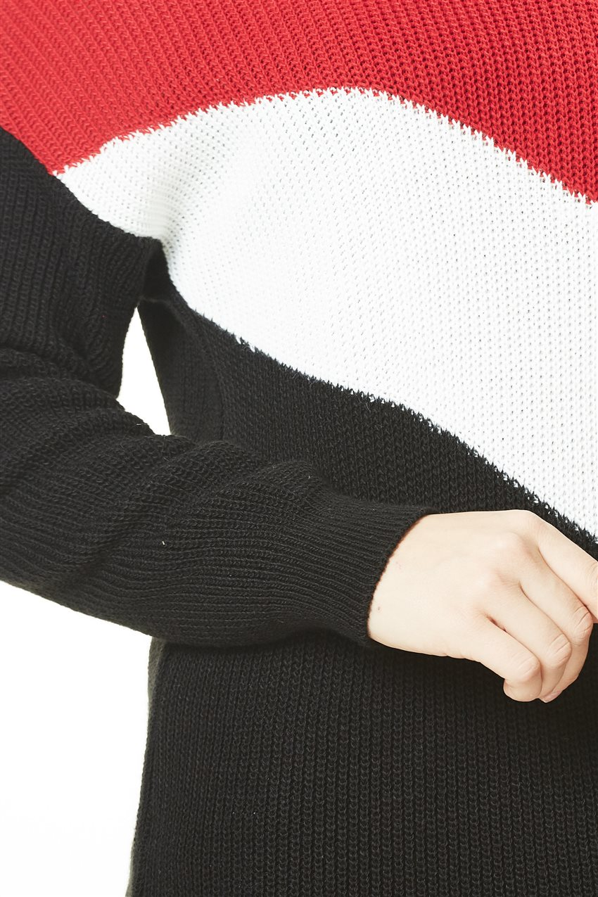 Knitwear-Red White PL0001-3402 - 9