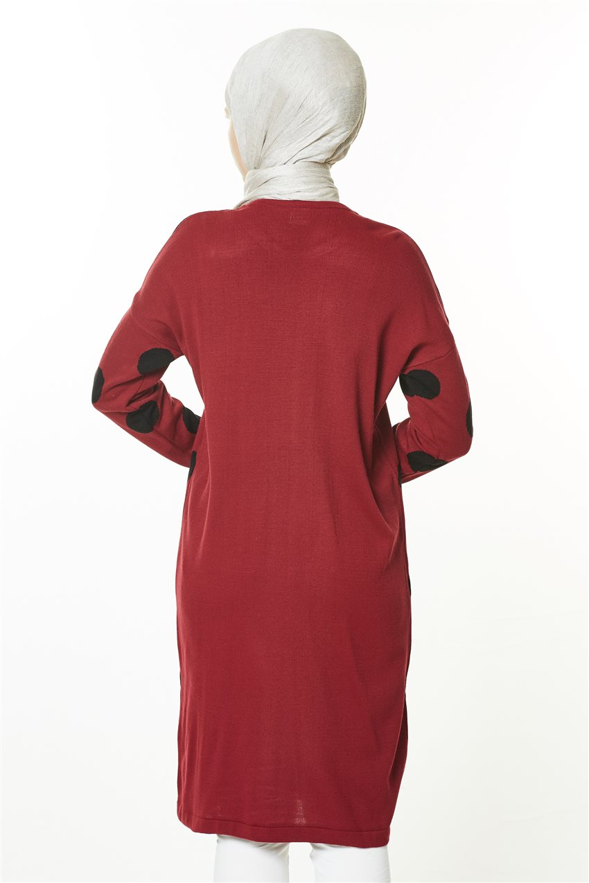 Knitwear-Claret Red PL4170-67 - 10