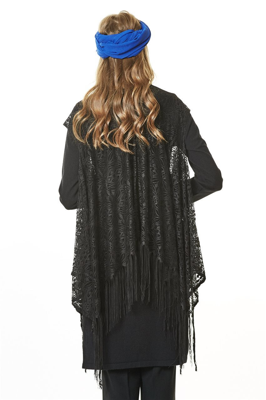 Knitwear Tunic-Black TK-L4062-09 - 10