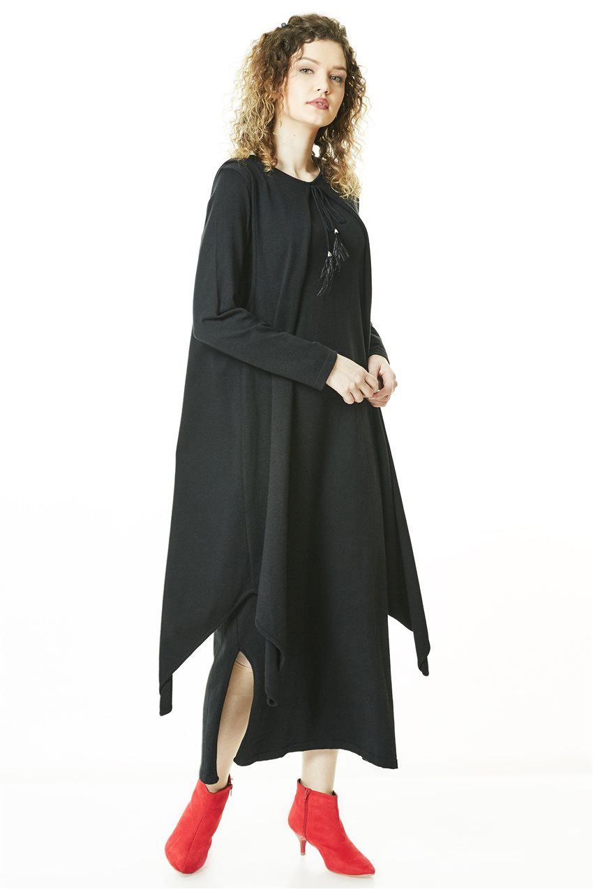 Knitwear Tunic-Black TK-L4056-09 - 6