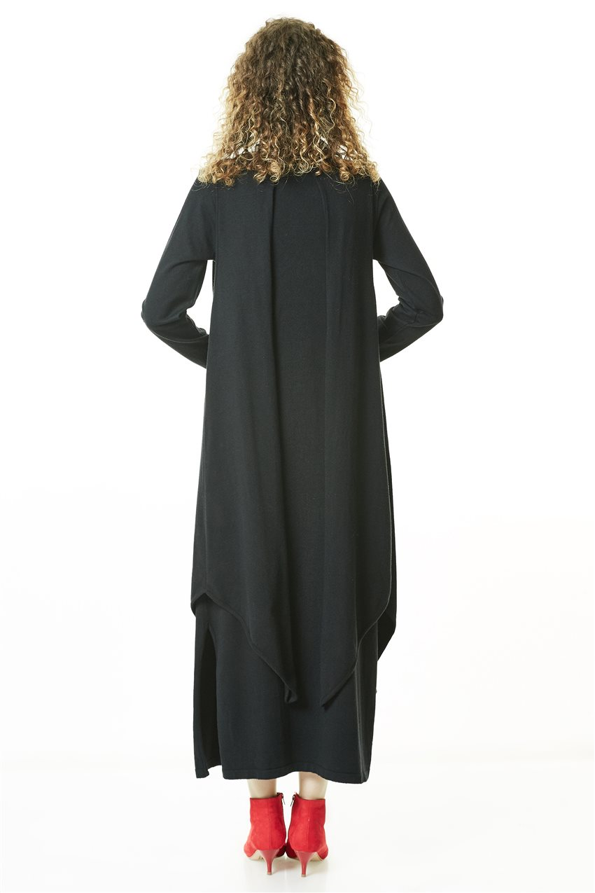 Knitwear Tunic-Black TK-L4056-09 - 10