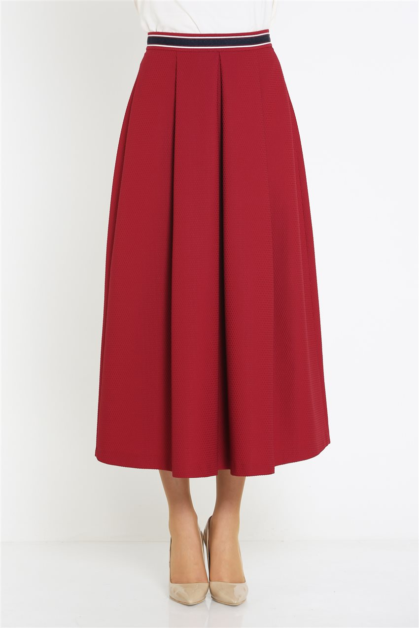 Kyr Skirt-Claret Red KY-B9-72025-26 - 8