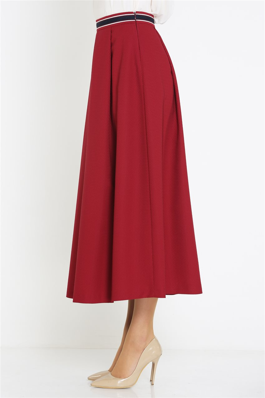 Kyr Skirt-Claret Red KY-B9-72025-26 - 13