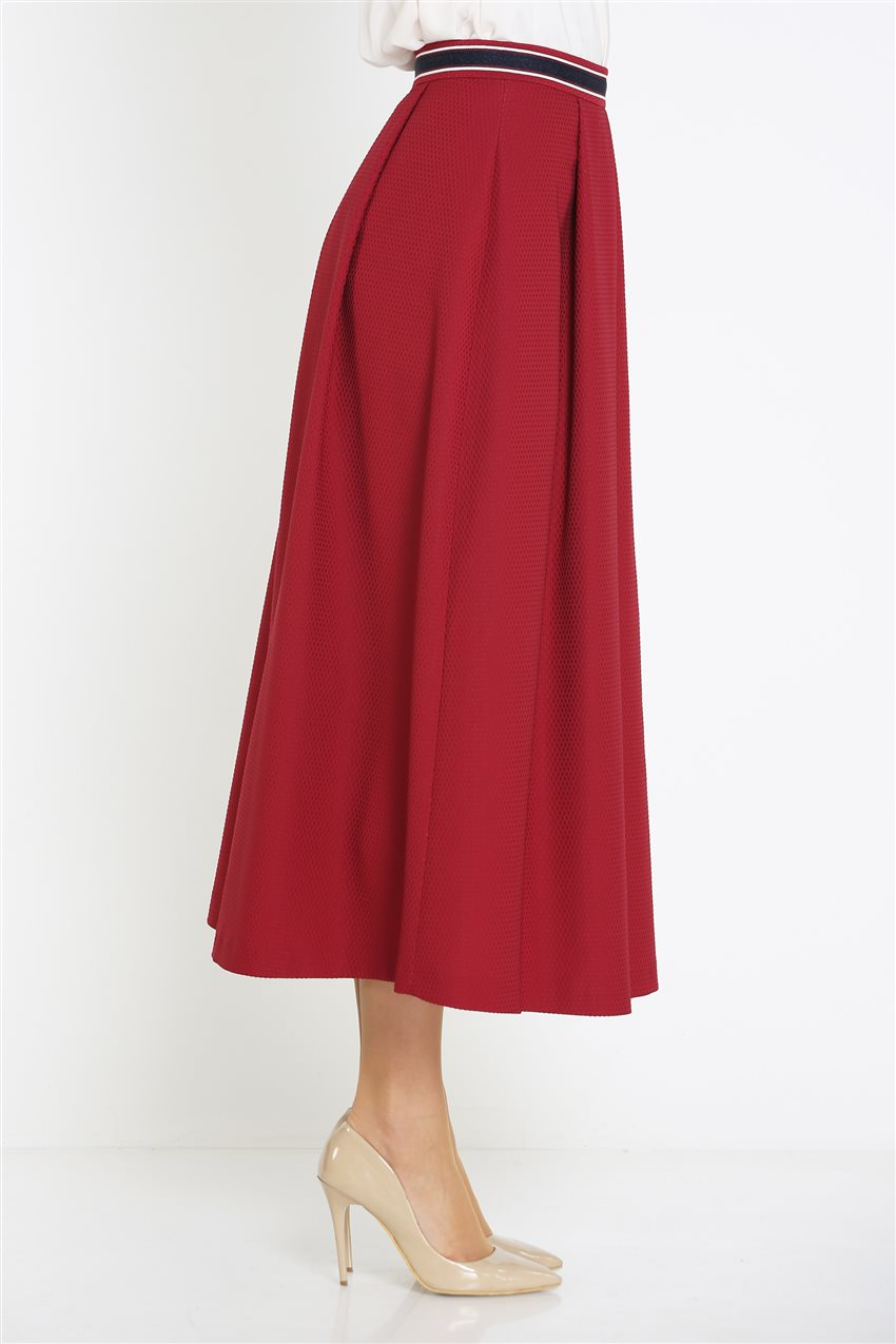 Kyr Skirt-Claret Red KY-B9-72025-26 - 14