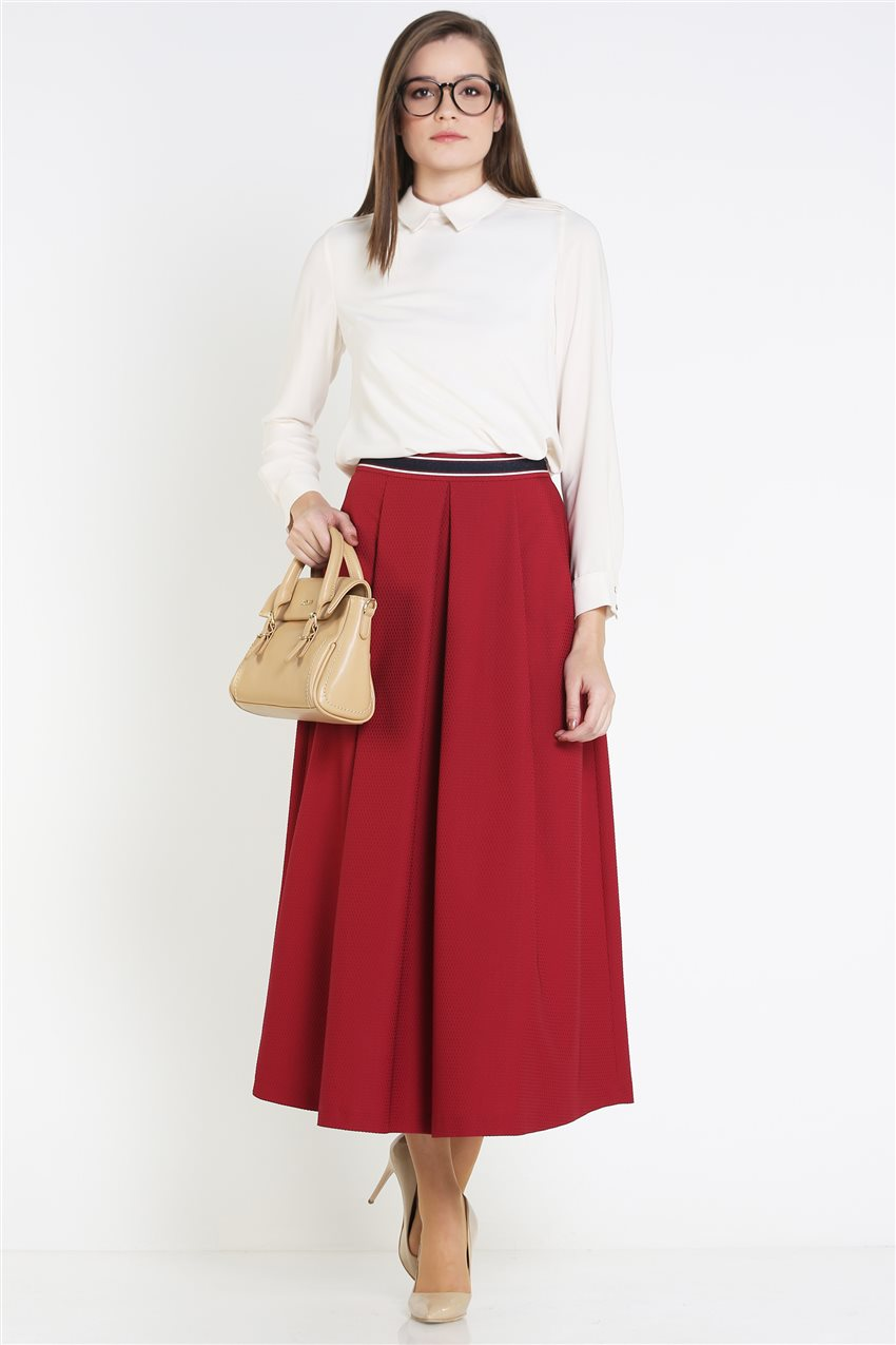 Kyr Skirt-Claret Red KY-B9-72025-26 - 11