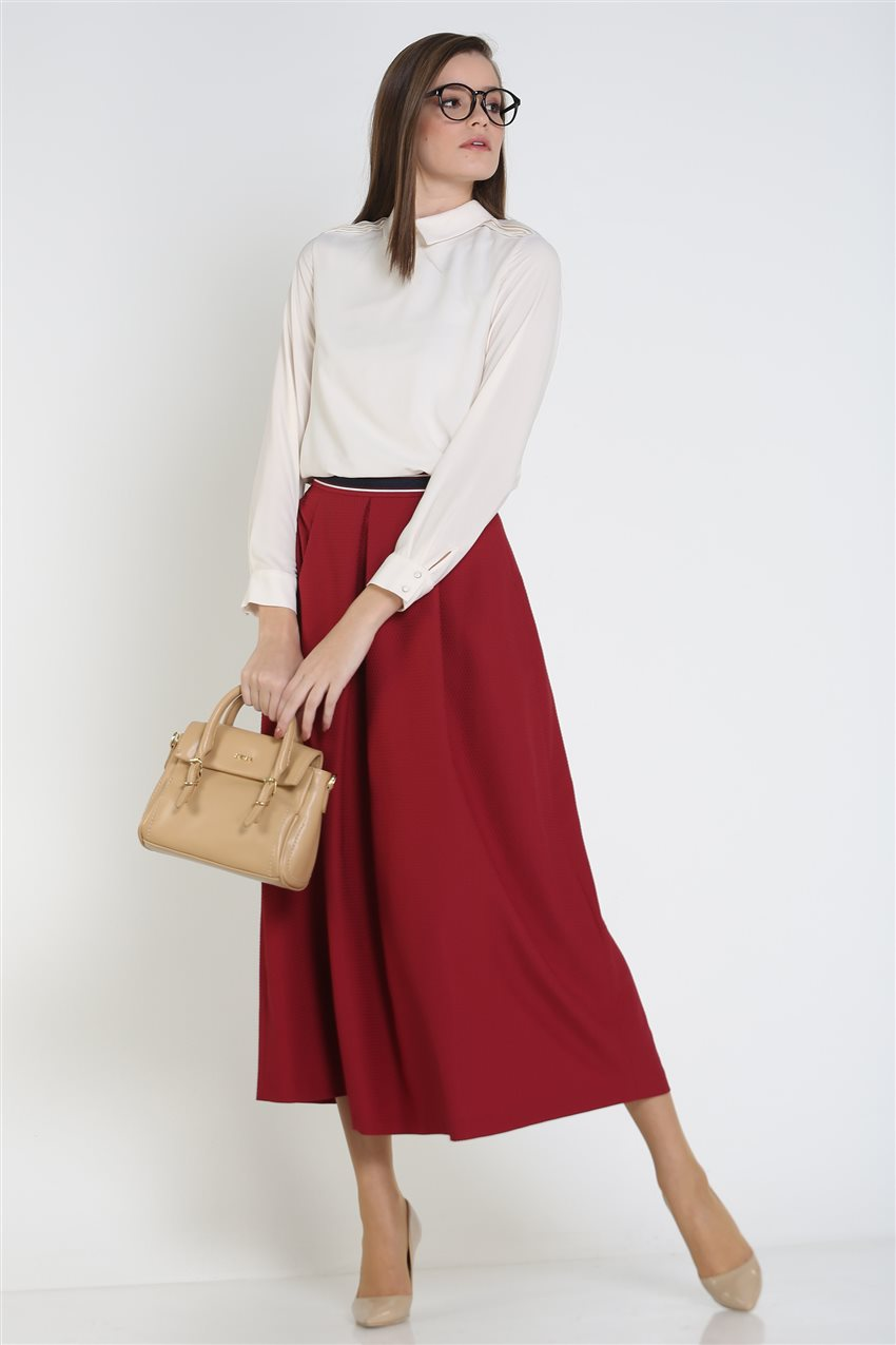 Kyr Skirt-Claret Red KY-B9-72025-26 - 12