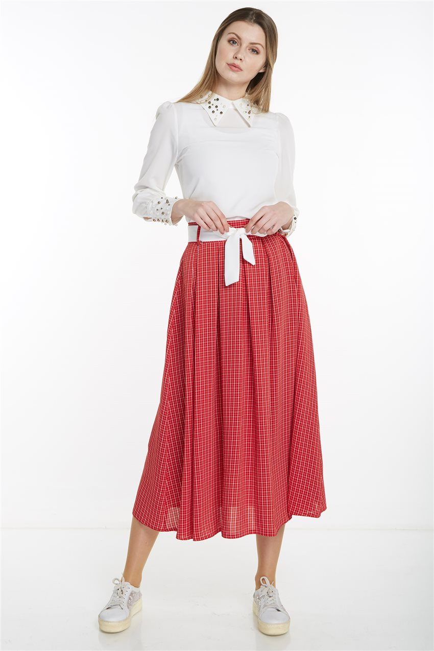 Skirt-Red MS128-34 - 11