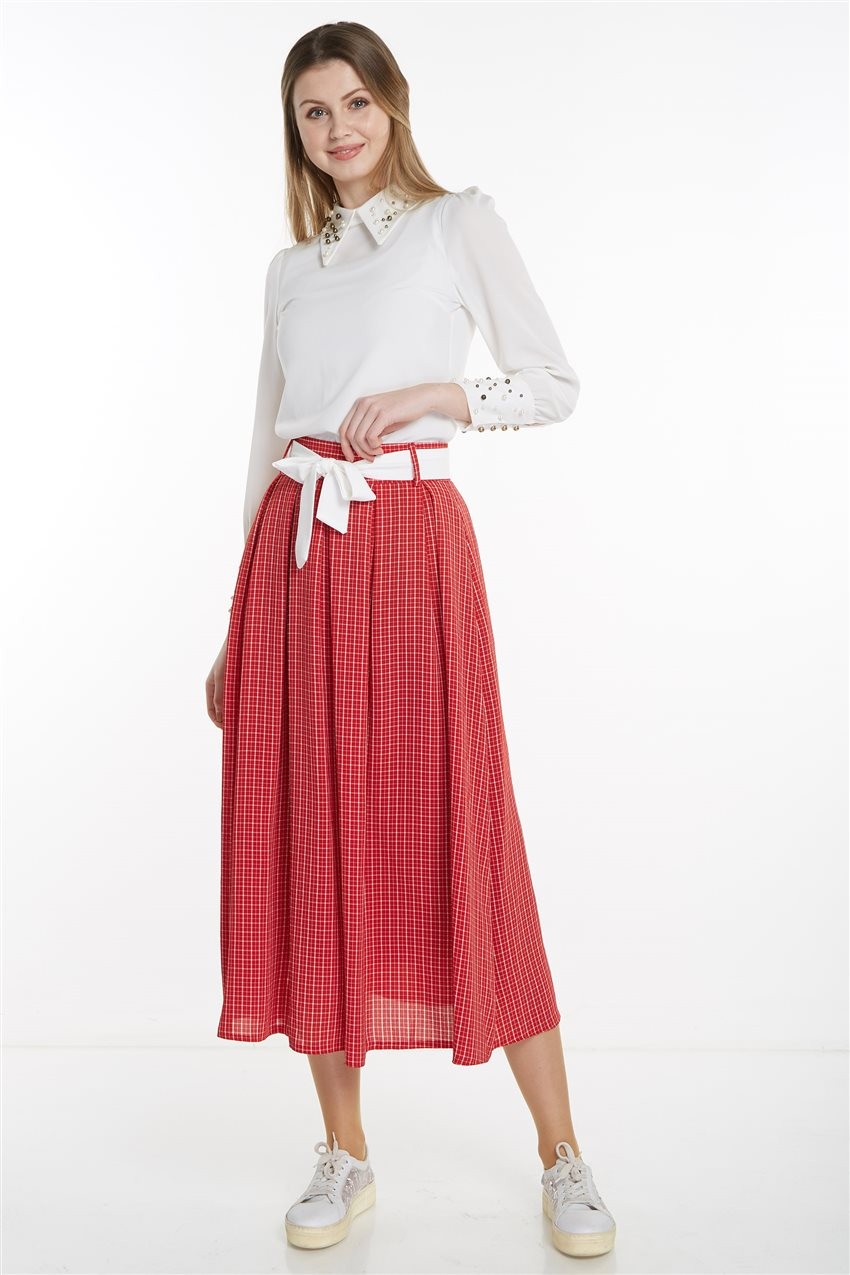 Skirt-Red MS128-34 - 12