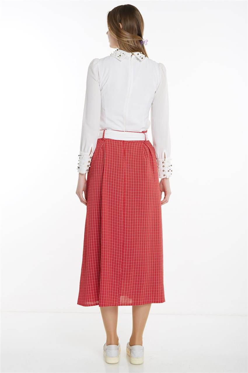 Skirt-Red MS128-34 - 14