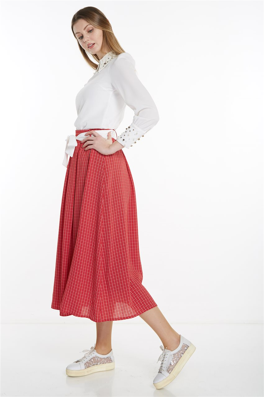 Skirt-Red MS128-34 - 9