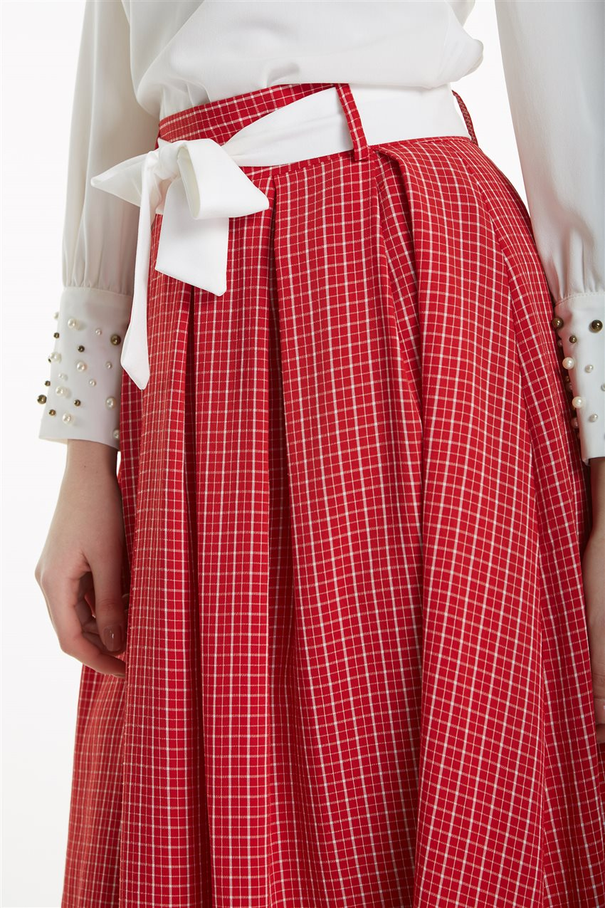 Skirt-Red MS128-34 - 13