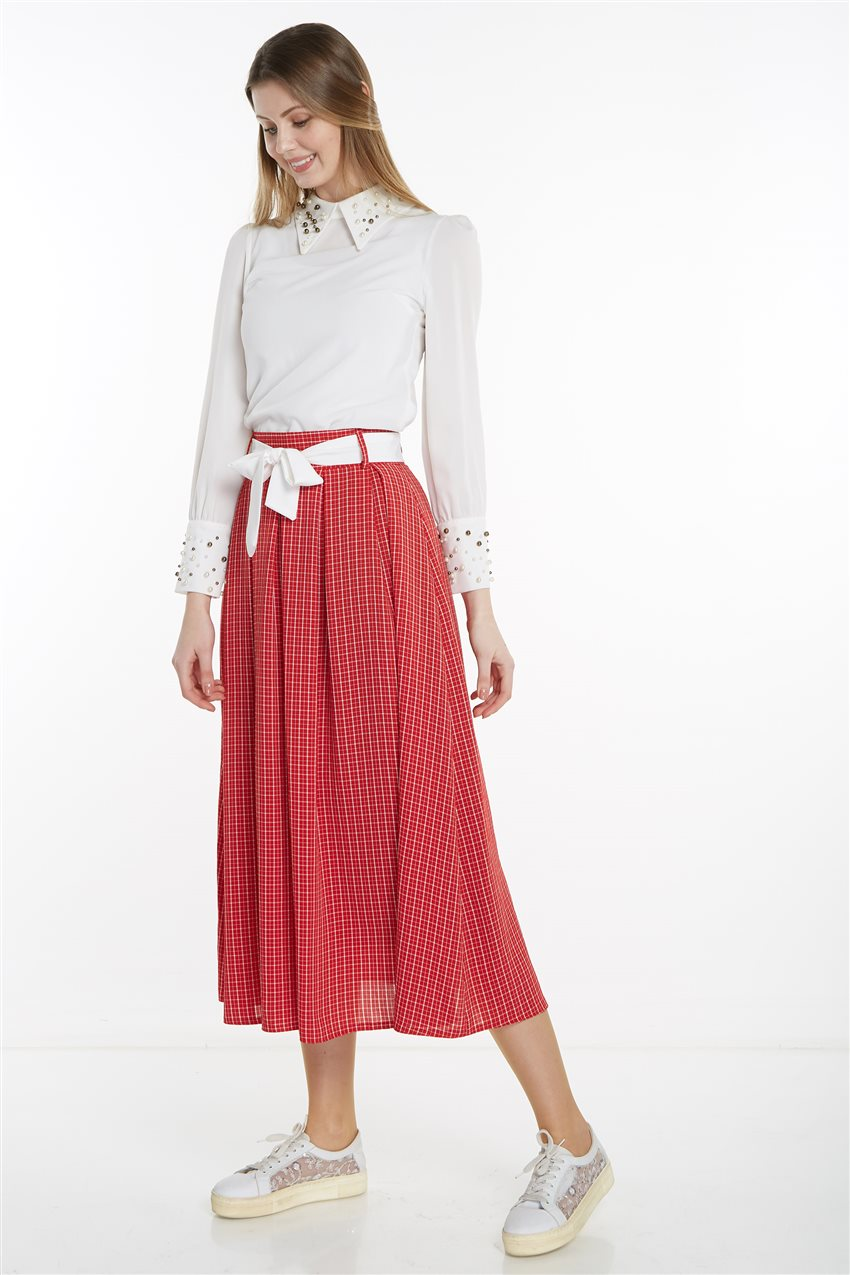 Skirt-Red MS128-34 - 10