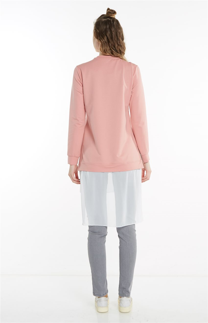Sweatshirt-Pembe 19Y-MM21.0144-42 - 12