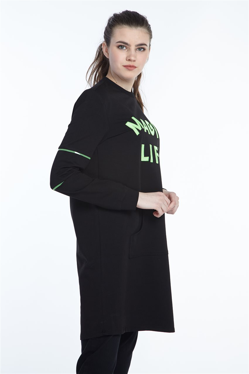 Sweatshirt-Black 19Y-MM21.0138-01 - 11