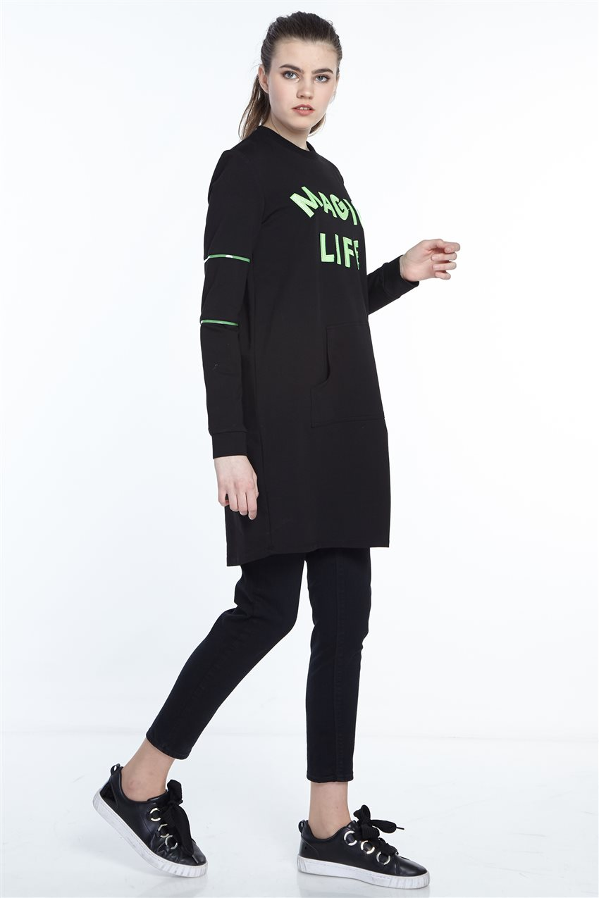 Sweatshirt-Black 19Y-MM21.0138-01 - 8
