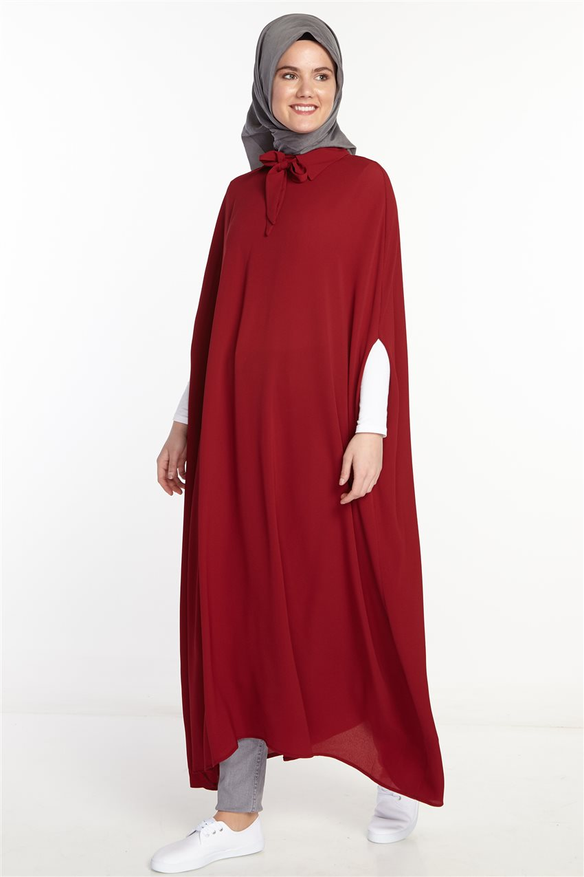 Poncho-Claret Red 2567-67 - 9