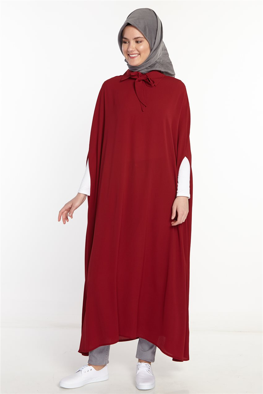 Poncho-Claret Red 2567-67 - 6
