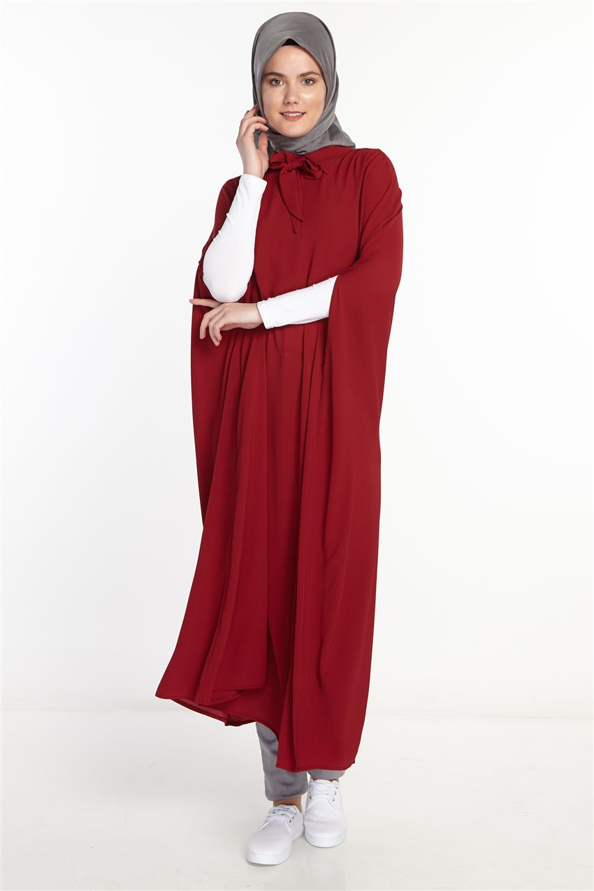 Poncho-Claret Red 2567-67 - 7