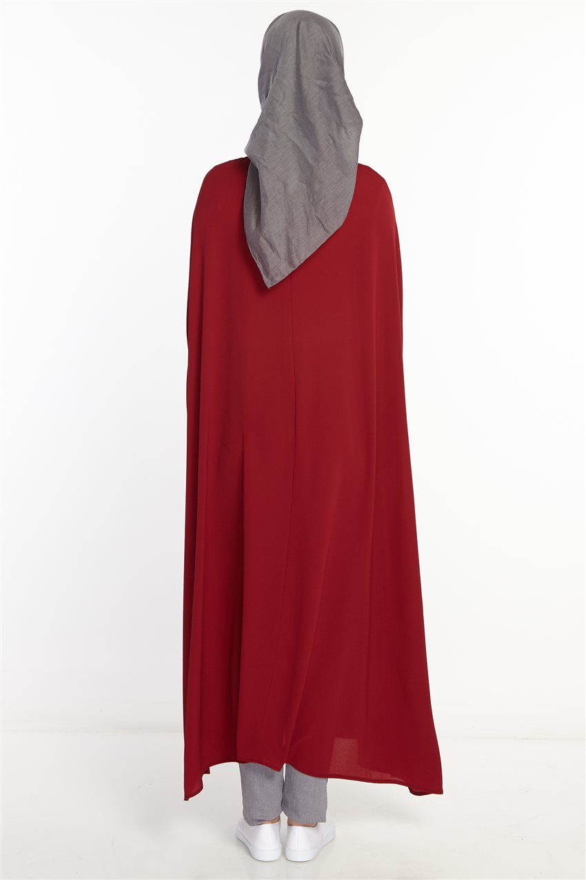 Poncho-Claret Red 2567-67 - 10