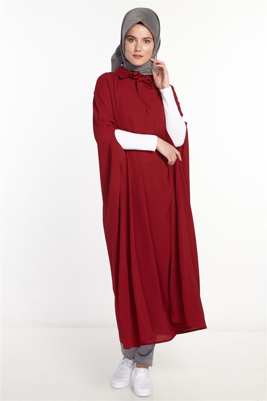 Poncho-Claret Red 2567-67 - 8