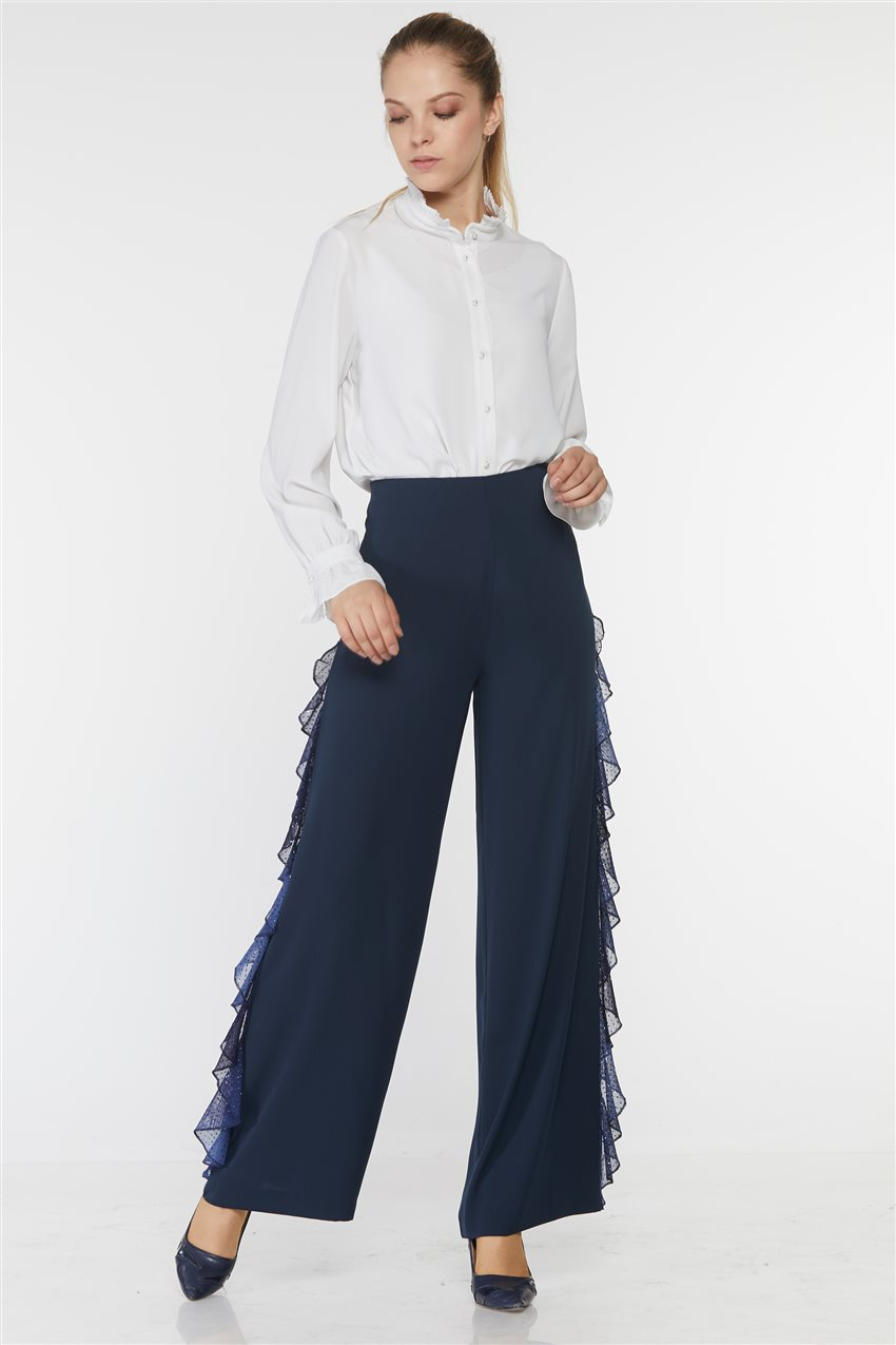 Kyr Pants-Navy Blue KY-B9-79017-11 - 6