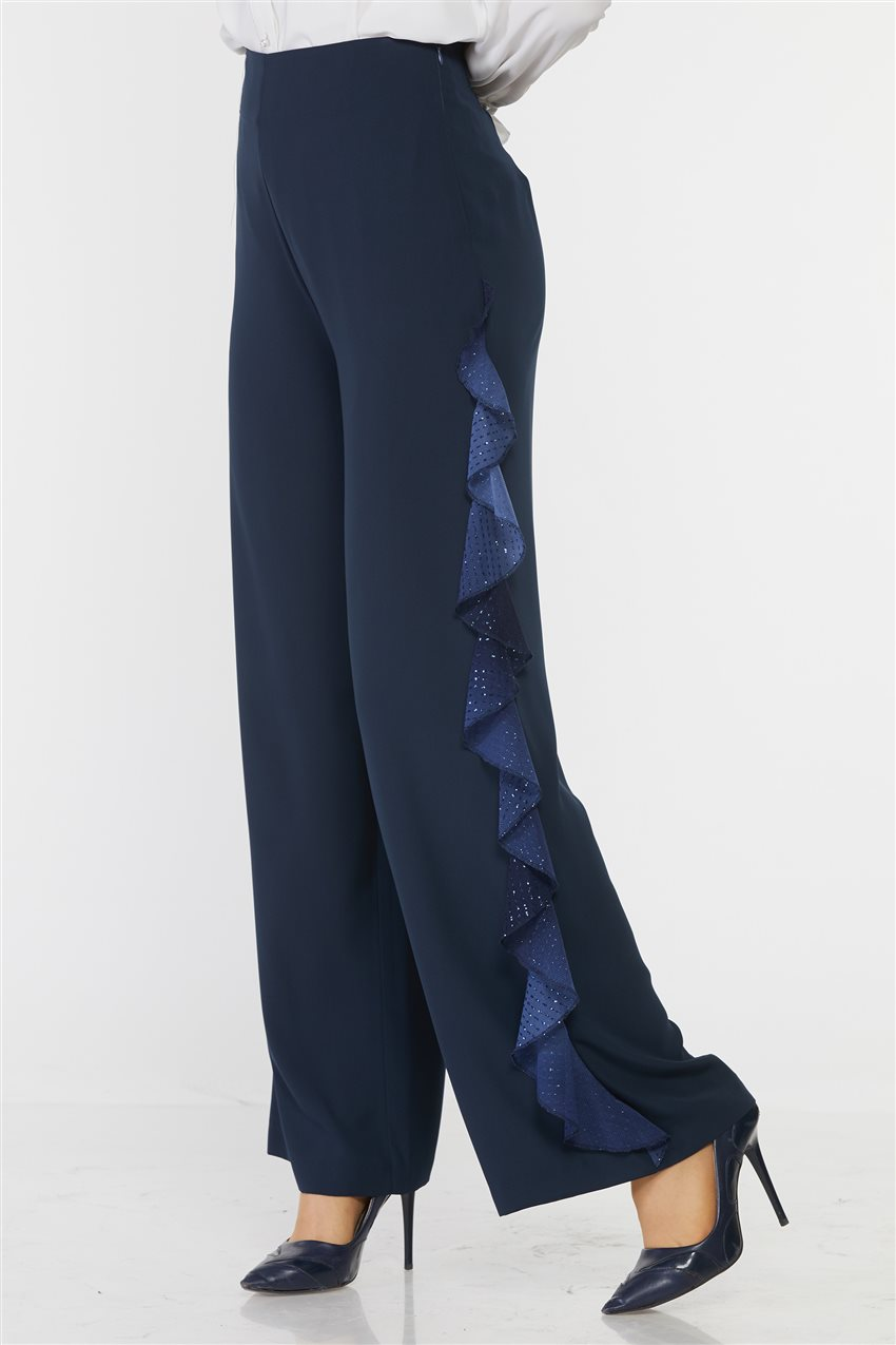 Kyr Pants-Navy Blue KY-B9-79017-11 - 7