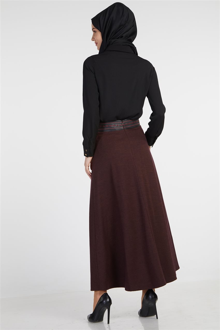 Skirt-Plum TK-Z8613-10 - 8