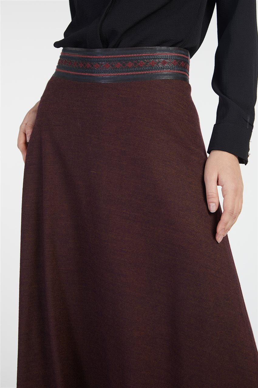 Skirt-Plum TK-Z8613-10 - 7