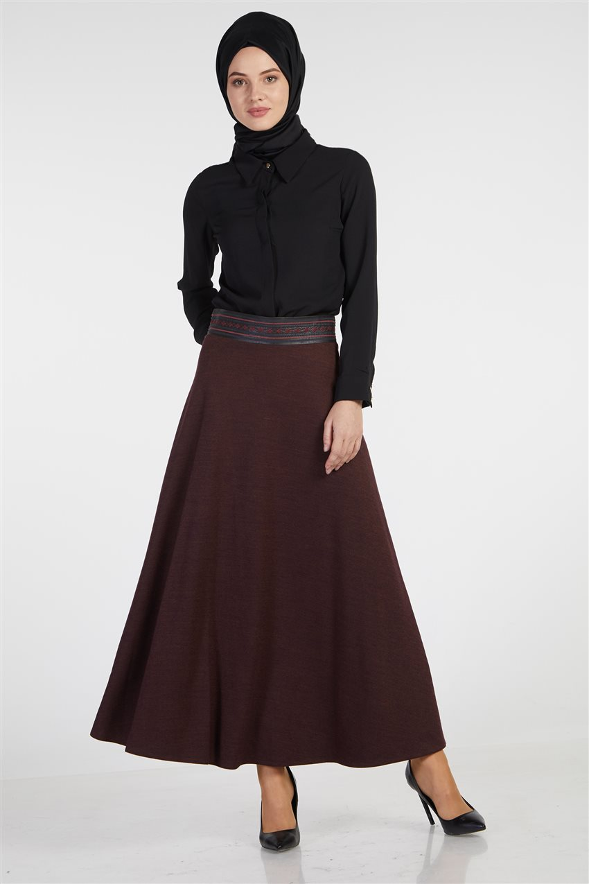 Skirt-Plum TK-Z8613-10 - 5