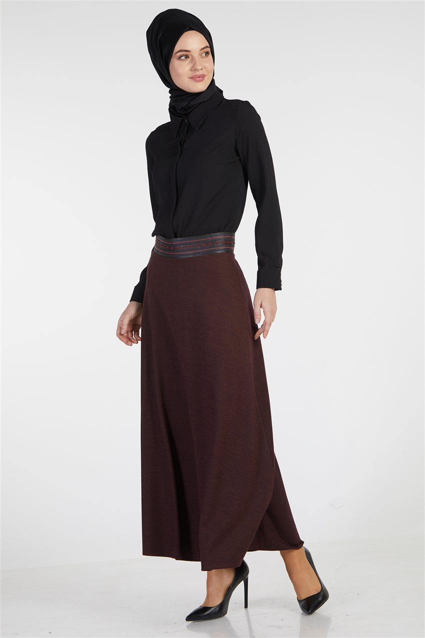 Skirt-Plum TK-Z8613-10 - 6