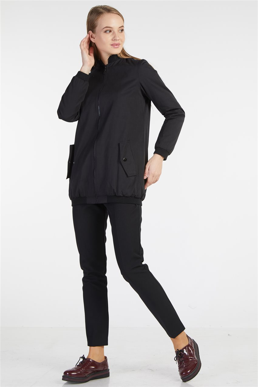 Coat-Black TK-Z3117-09 - 5