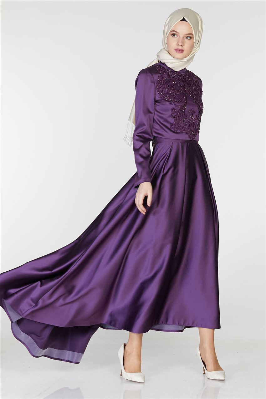 Tuğba Suit-Purple M5142-19 - 6
