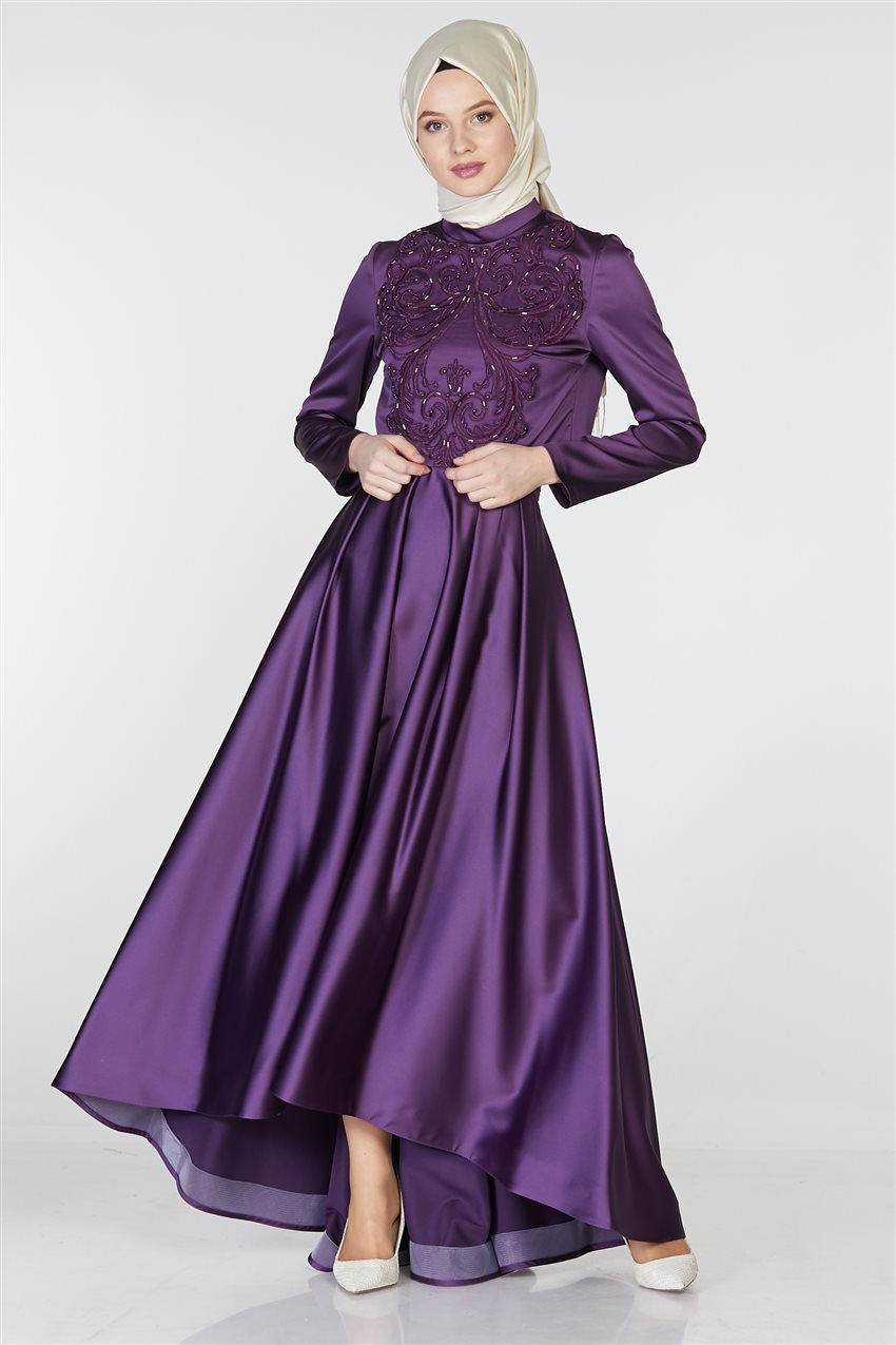 Tuğba Suit-Purple M5142-19 - 5